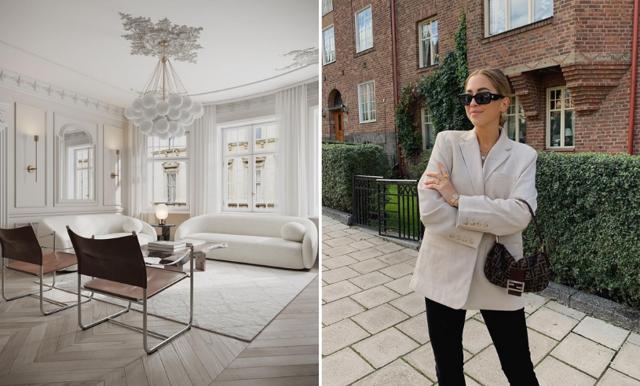 Kenza Zouiten Subosic visar fler bilder från nya lägenheten – och vi älskar det!