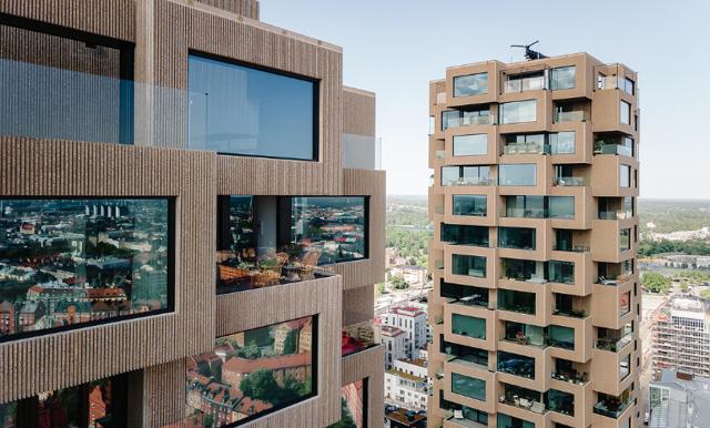 Penthouse i Norra Tornen till salu för 55 miljoner