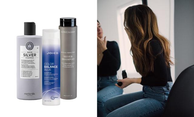Är du brunett - då kan även du använda silverschampo!