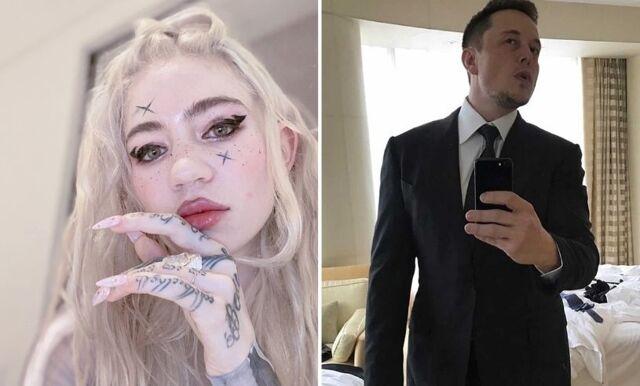 Elon Musk och Grimes separerar efter 3 år tillsammans