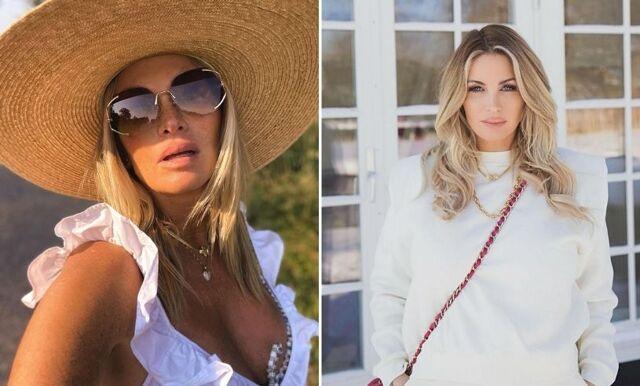 Nu försvarar Carolina Gynning rumpbilden på Instagram
