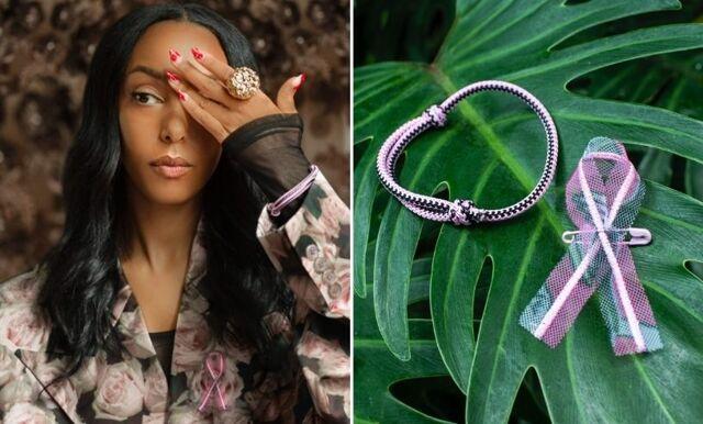 Rosa bandet 2021 – Selam Fessahaye designar årets band för Cancerfonden