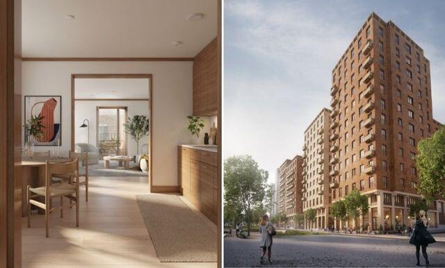 Spana in nybygget Cederhusen i Hagastaden – unik penthouse-våning med utsikt över hela Stockholm