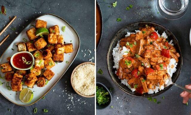 Tre härliga recept med svensk tofu