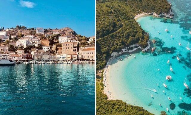 7 paradispärlor i den grekiska ö-världen