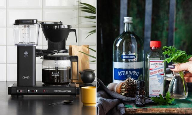 Så rengör du kaffemaskinen – med ättika