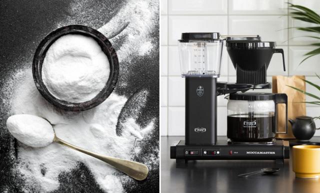 Så avkalkar du kaffemaskinen – med ingredienser i skafferiet