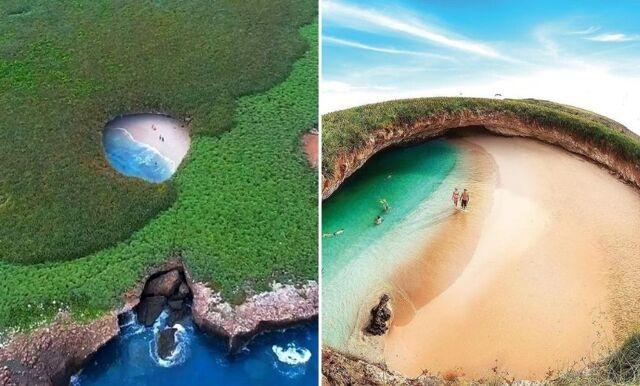 Upptäck mexikanska Playa del Amor – en gömd strand du måste simma till