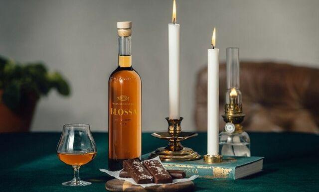 Blossa släpper glögg med smak av whiskey och alkoholfritt glubbel