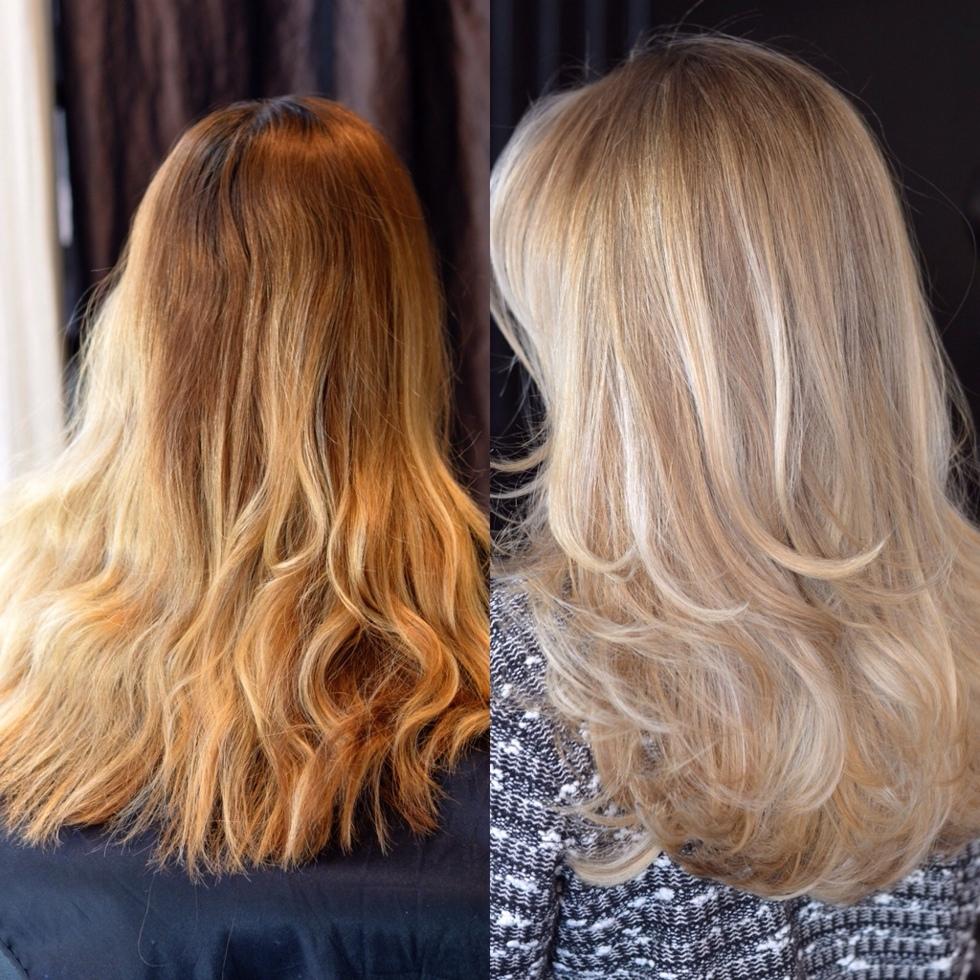 silverschampo före och efter