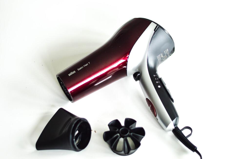 Jag har testat en ny hårfön som ska skydda din hårfärg och minimera frizz  och elektricitet. Den är från Braun och heter Satin Hair 7 och ligger i ... ad5556e13cf57