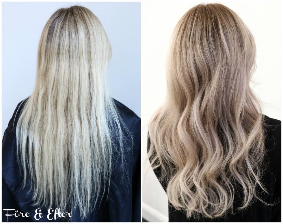 schampo för blont slingat hår