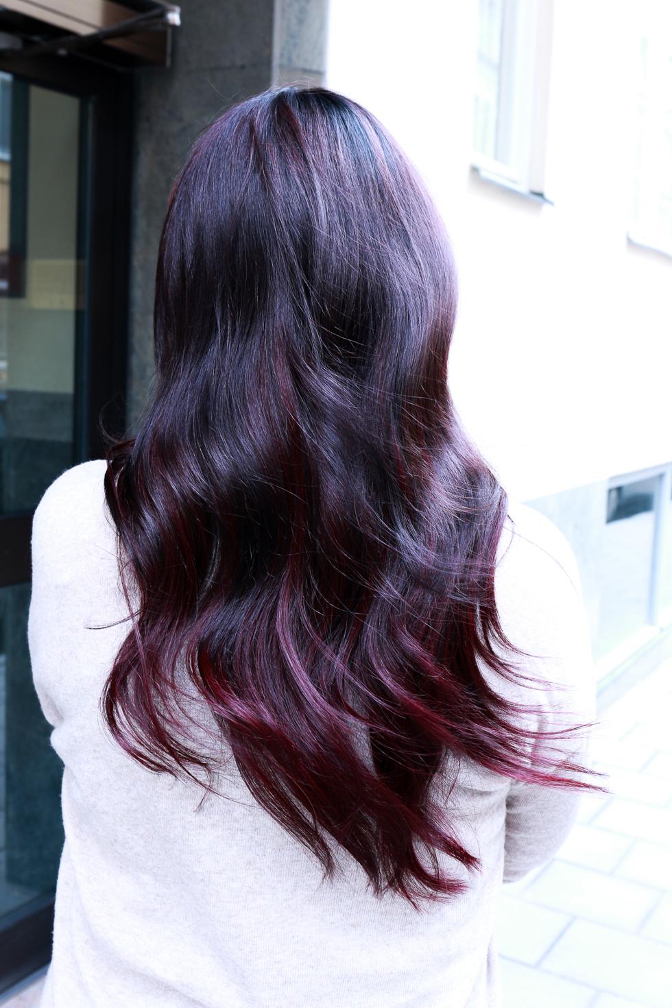 violetta hår
