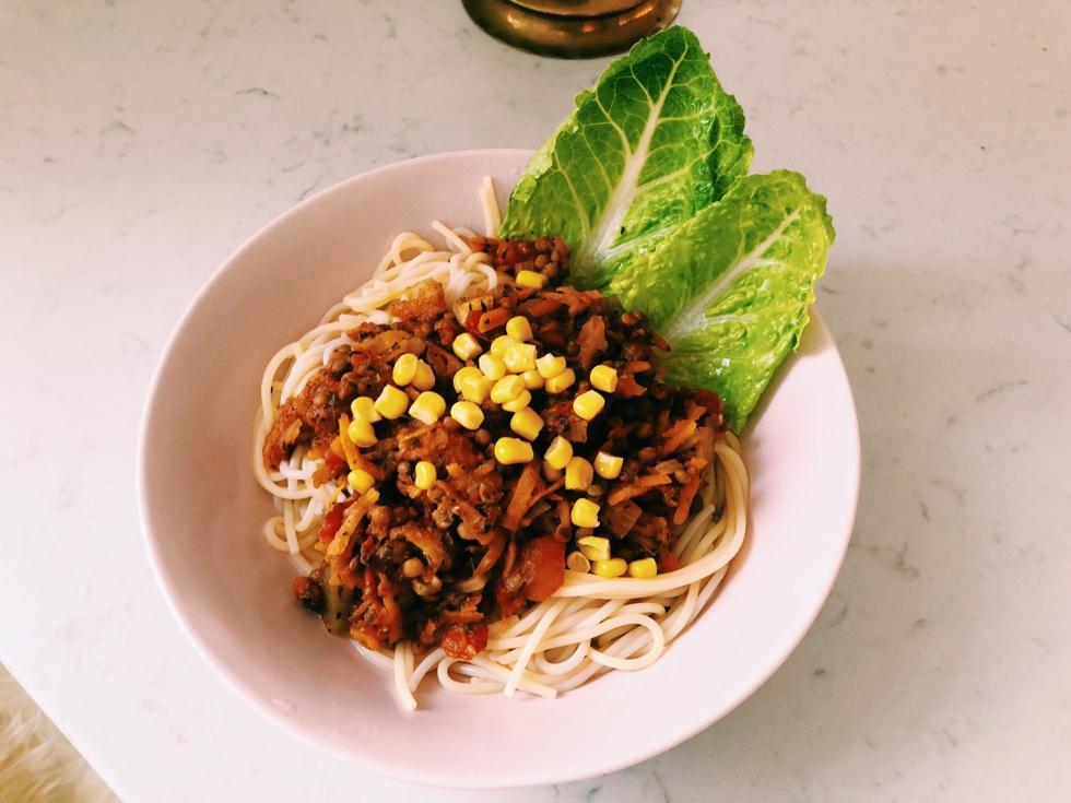 vegansk köttfärssås recept