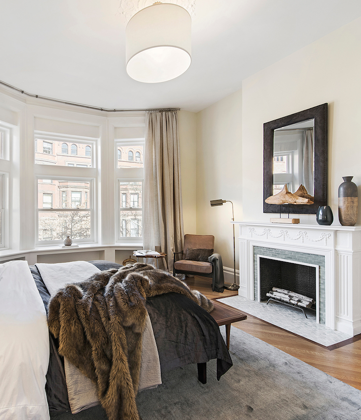 fireplace-bedroom-Brooklyn-Townhouse