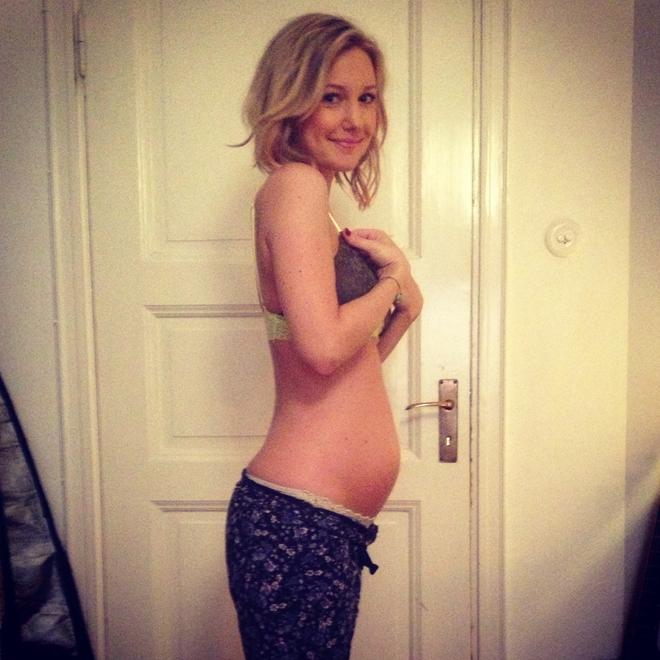 vanja wikström gravid vecka 24