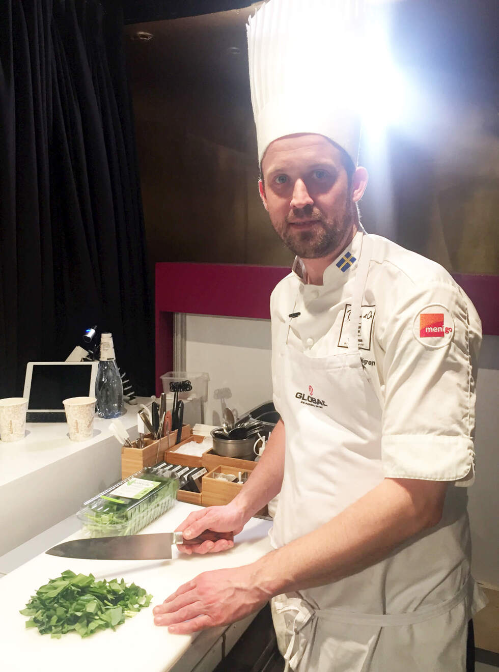 Alexander Sjogren kock