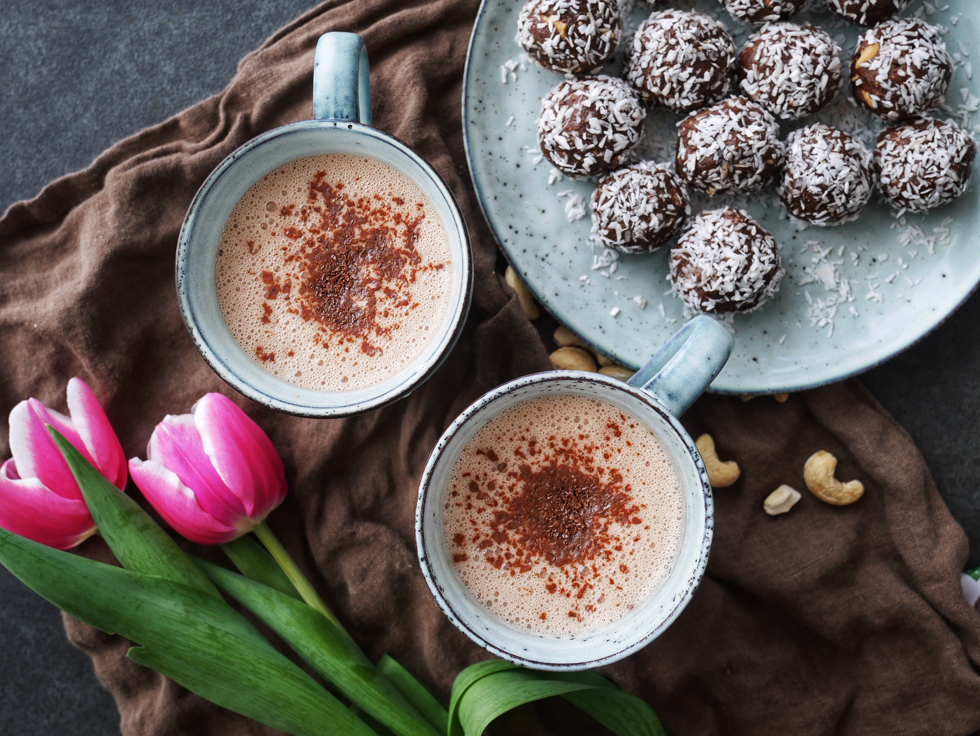 varm choklad havremjölk