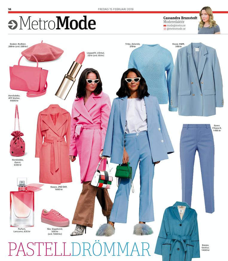 Cassandras mode Cassandra Brunstedt Metro Mode