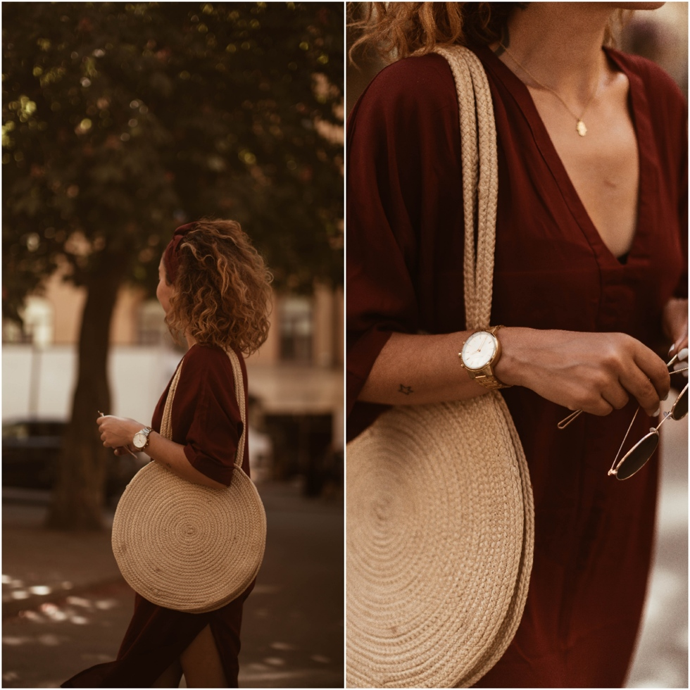 sara-che-grounded-factory-kaftan-pieces-straw-bag-kronaby-watch-gold-monki-sunglasses