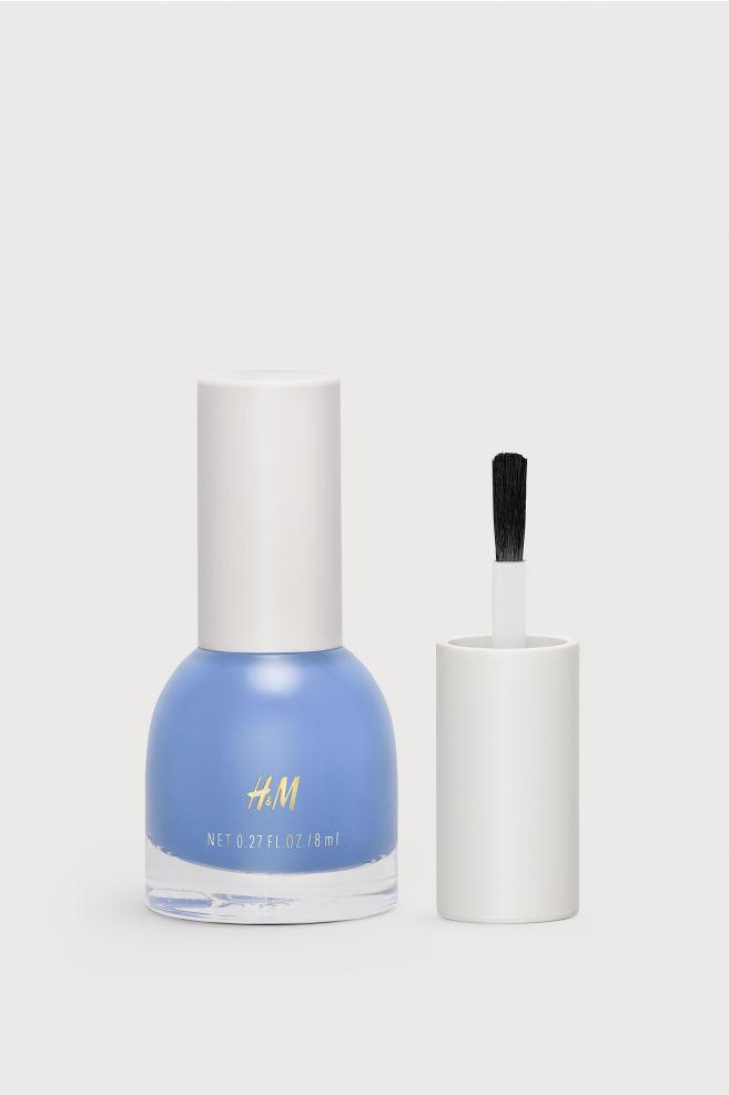h&m-nagellack-blå