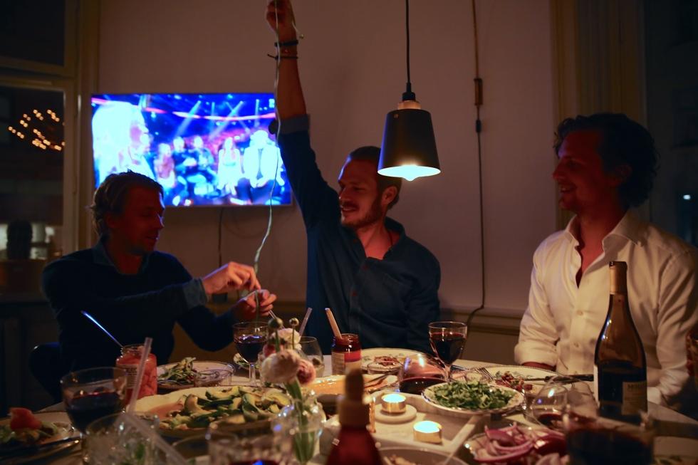 petra tungården middag lägenhet joakim graan