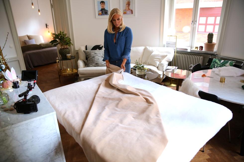 Petra Tungården gör det själv sänggavel DIY