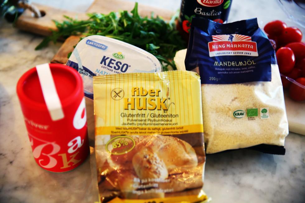 Gluten och laktosfri pizza