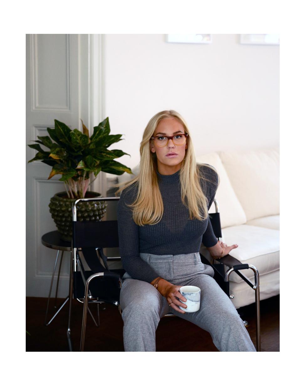 Tid för glasögon? Undersökning hos ögonspecialisten! - Petra Tungården - Metro Mode