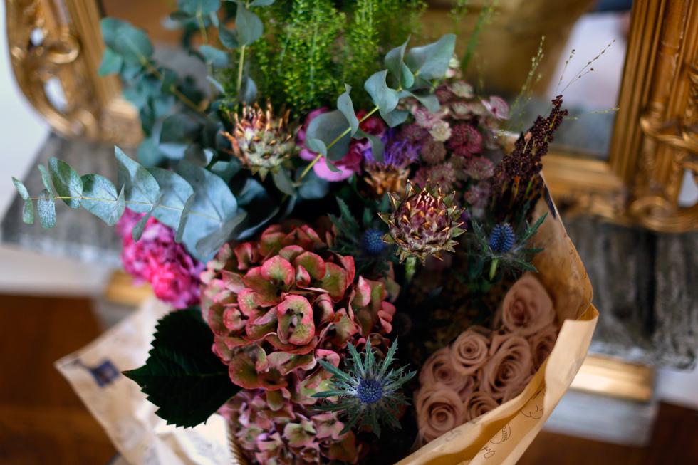 Höst-Blommor