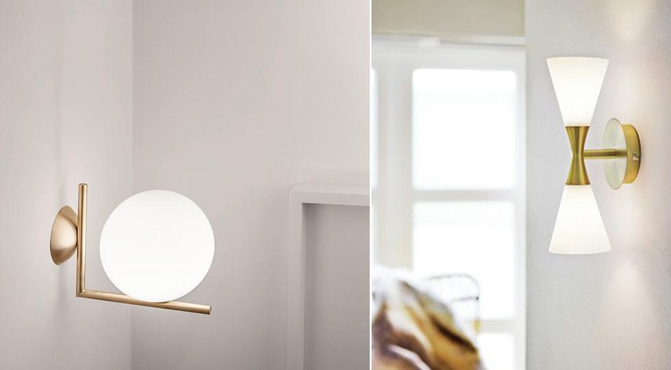 Lampor-Spegel