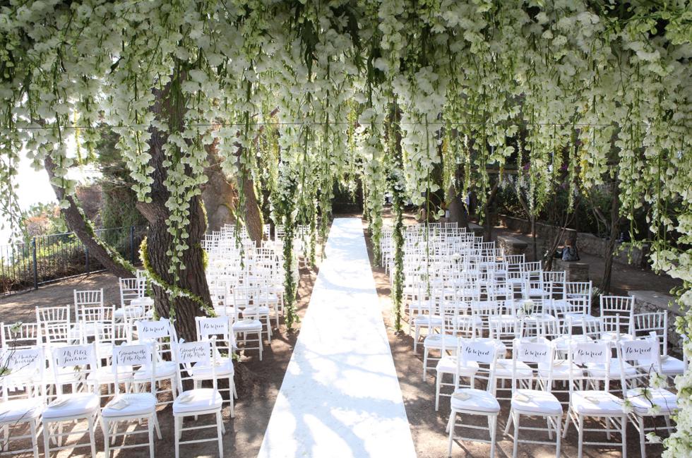 Capri Wedding Ceremony Sugokuii Events Capri Diana Sorensen