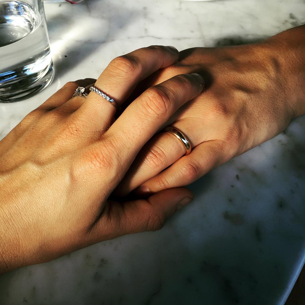 Förlovade