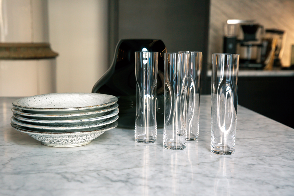 Glas-Tallrikar