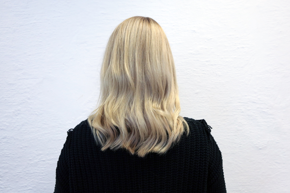 Blond-Hårfärg
