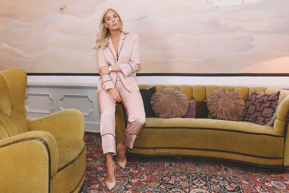 Pyjamas-Rosa