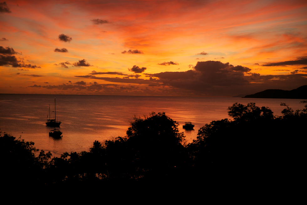 sunset vieques