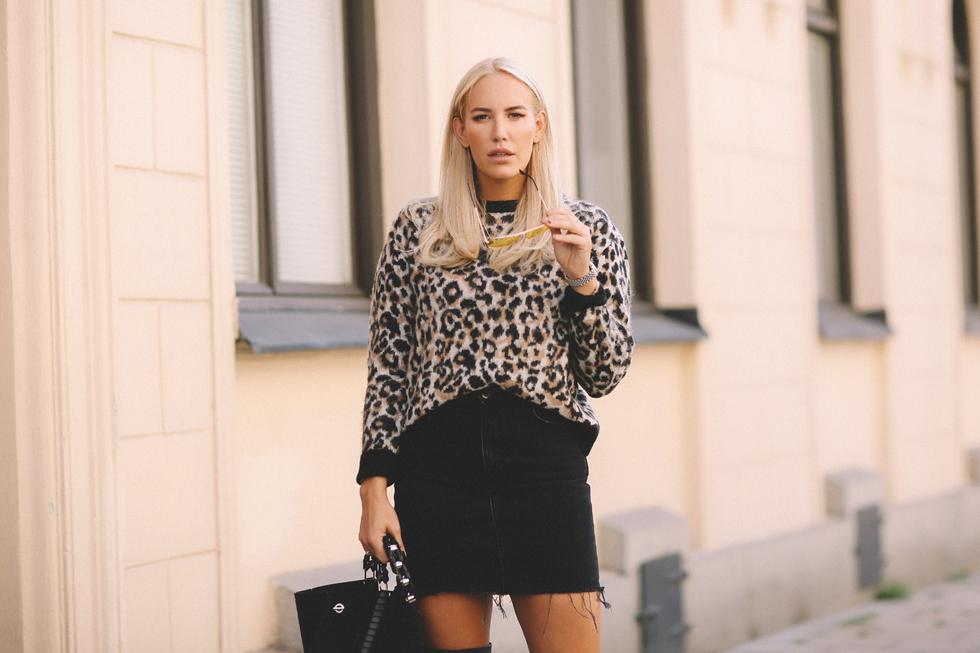 Leopard-Stickat