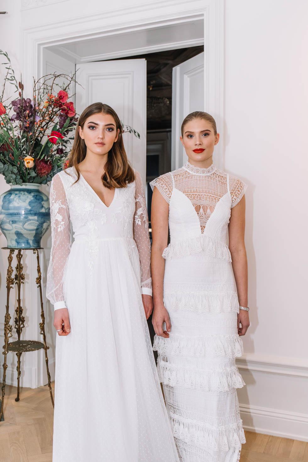 cf86d1e6833d Förlåt för att jag terroriserar er med bilder, men är verkligen stolt över  de här klänningarna. Och våra söta modeller Felicia och Jossan.