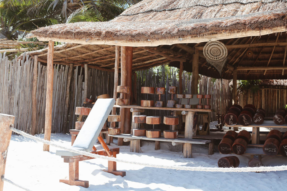 Tulum Beach Beach Gym