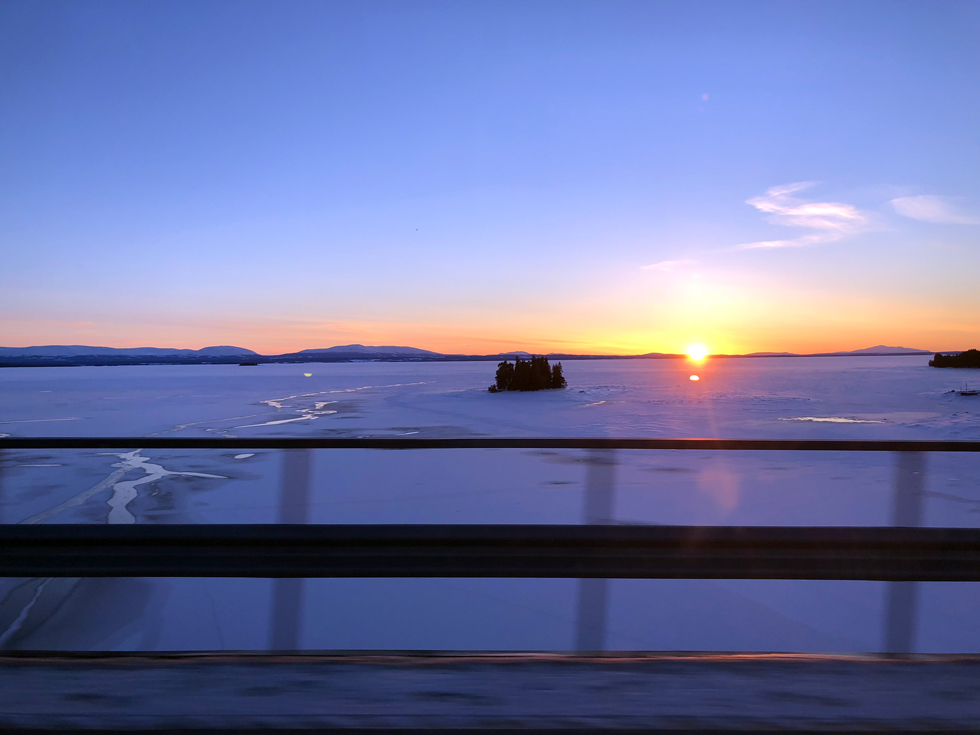 Solnedgång-Åre