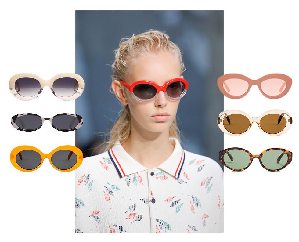 Retro solglasögon