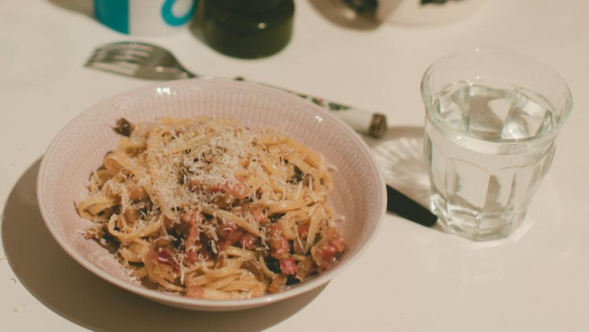 okologisk-pasta-carbonara-oppskrift-mariell-oyre-hjartesmil-matmerk