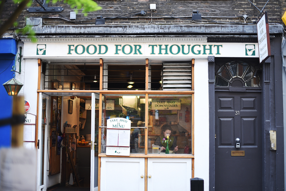 Food for thought, Londonguide