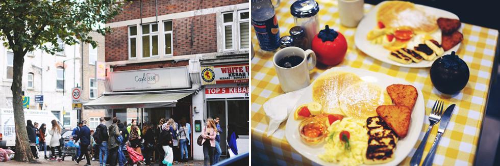 Café 338, Londonguide
