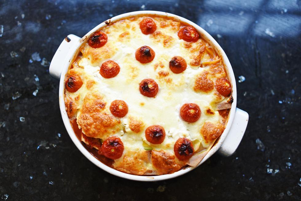 Vegetarisk lasagne - Flora Wiström