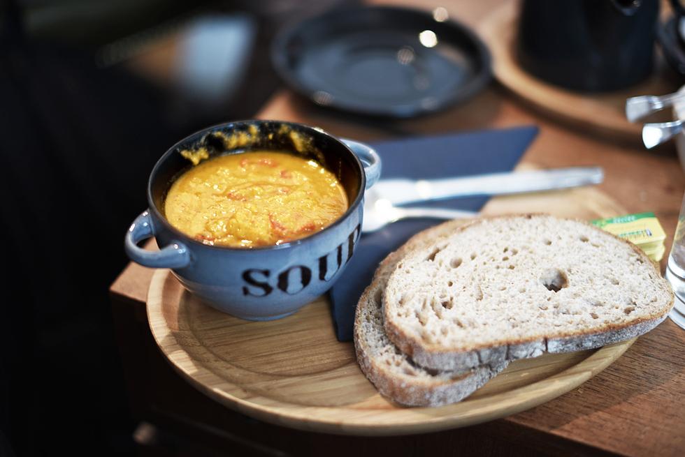 Soup, Husk Coffee Limehouse