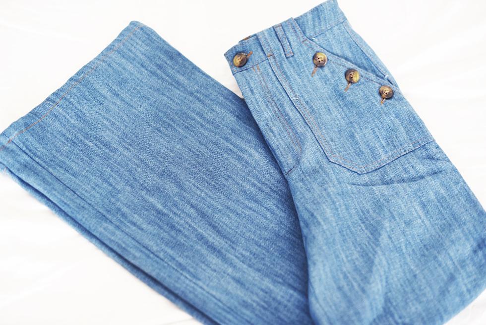 utsvängda jeans zara