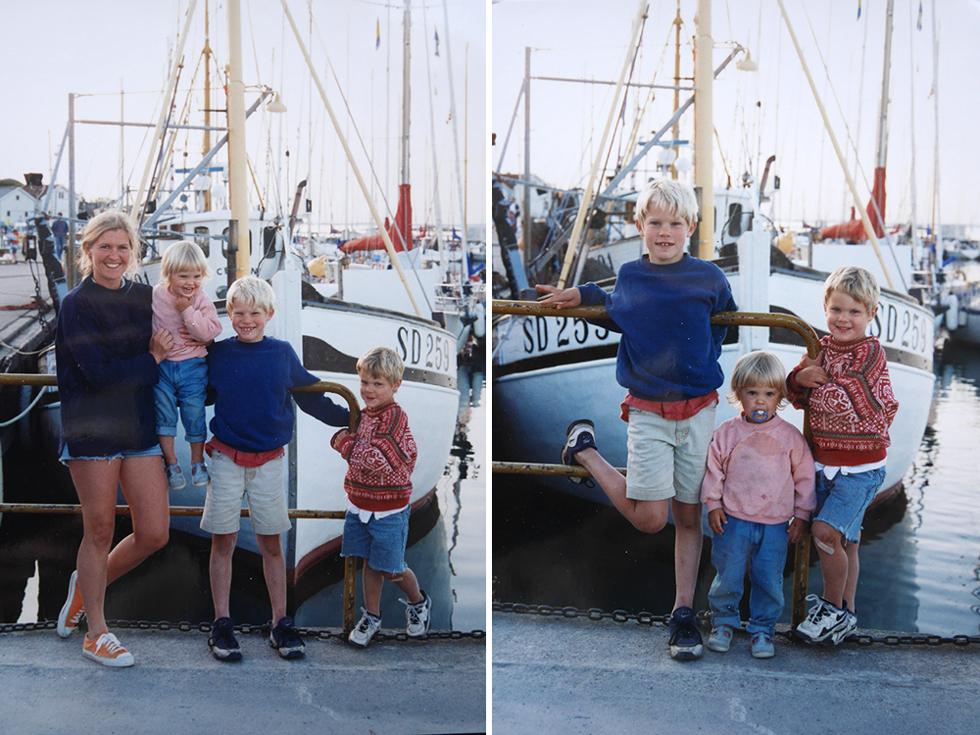 Flora och syskon 1996