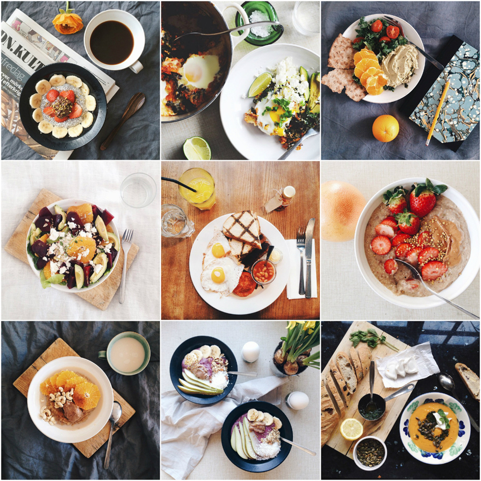mat på instagram flora